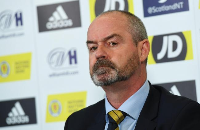 GLASGOW, SCOTLAND - OCTOBER 01: Scotland manager Steve Clarke is pictured during a Scotland press conference as he announces his squad for the UEFA Euro 2020 qualifying matches against Russia and San Marino on October 01, 2019, in Glasgow, Scotland. (Phot