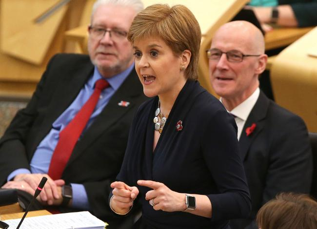 Nicola Sturgeon received several threatening emails