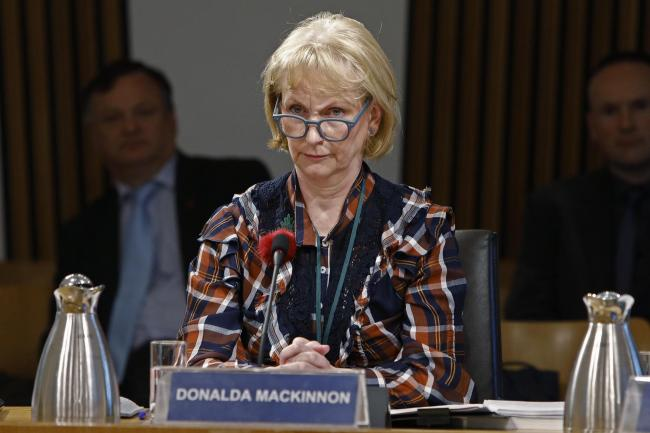 Donalda MacKinnon told staff the time is right for her to leave after launching the new BBC Scotland channel in February 2019