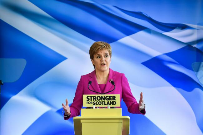 Nicola Sturgeon said it was not for Westminster to determine the timescale for indyref2