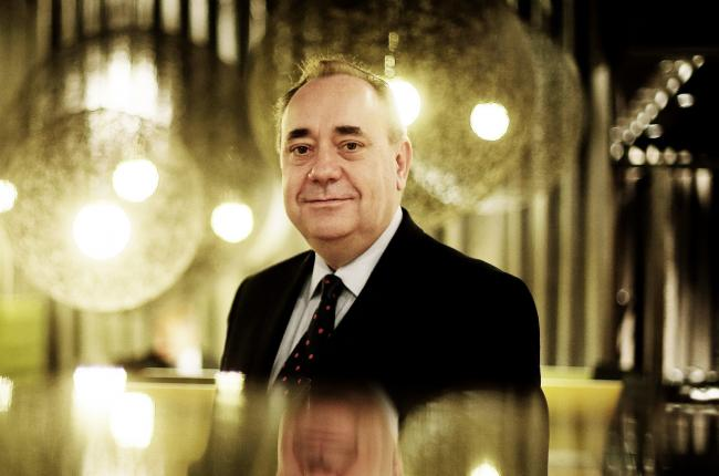 Alex Salmond said he believed the 2014 indyref would be a 'once-in-a-generation' opportunity