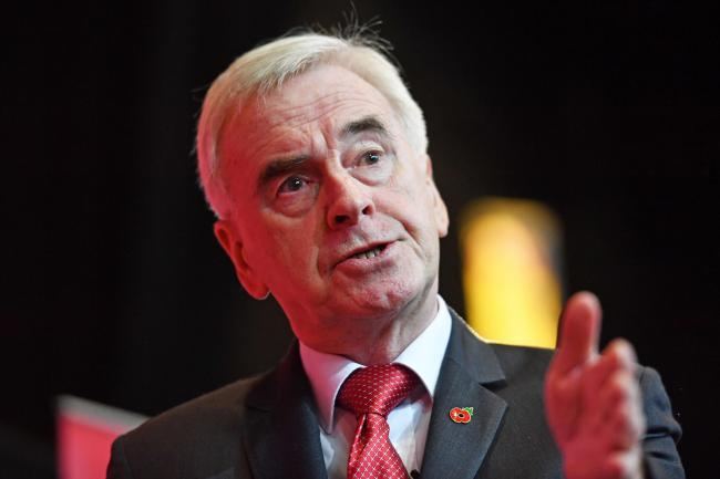 Shadow chancellor John McDonnell said Labour would not enter any pacts with the SNP