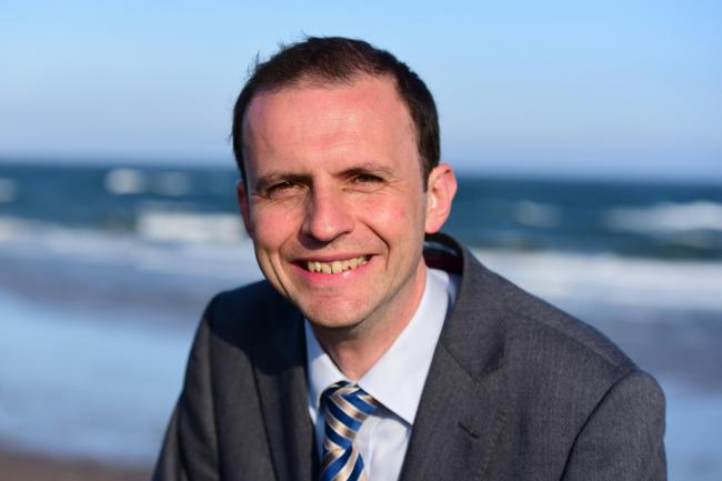 The SNP's Stephen Gethins faces a tight race in North East Fife