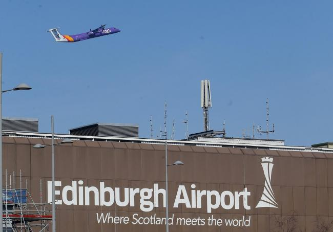 Edinburgh Airport raised the funds with coin collections and by raffling off confiscated sealed bottles