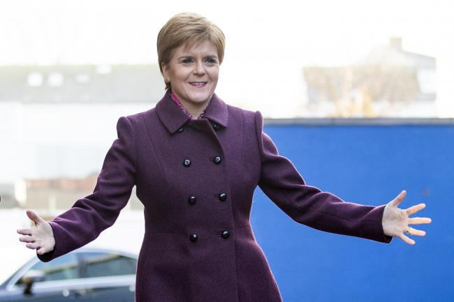 Nicola Sturgeon received the award for the fifth time, beating rivals such as Tory Jackson Carlaw