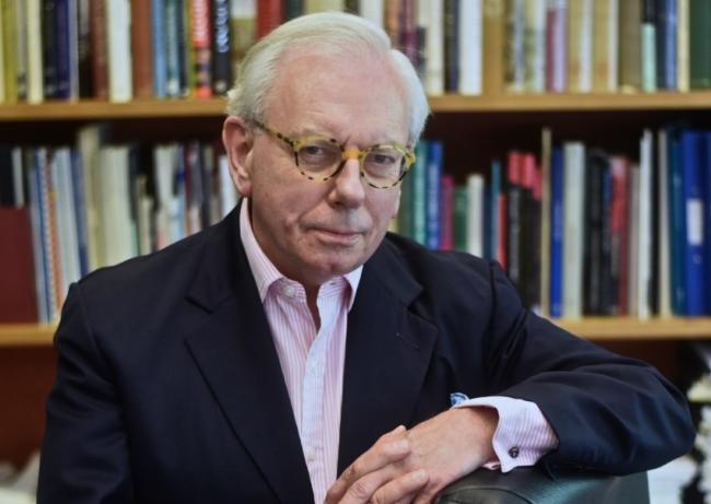 David Starkey said: 'Today's soldiers are volunteers. They do it because they like it and they get tremendously excited about it'