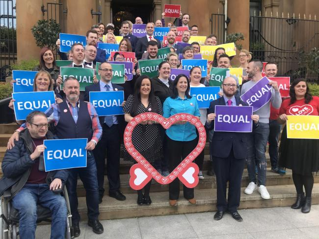 Equal marriage campaigners in Northern Ireland to launch legal challenge