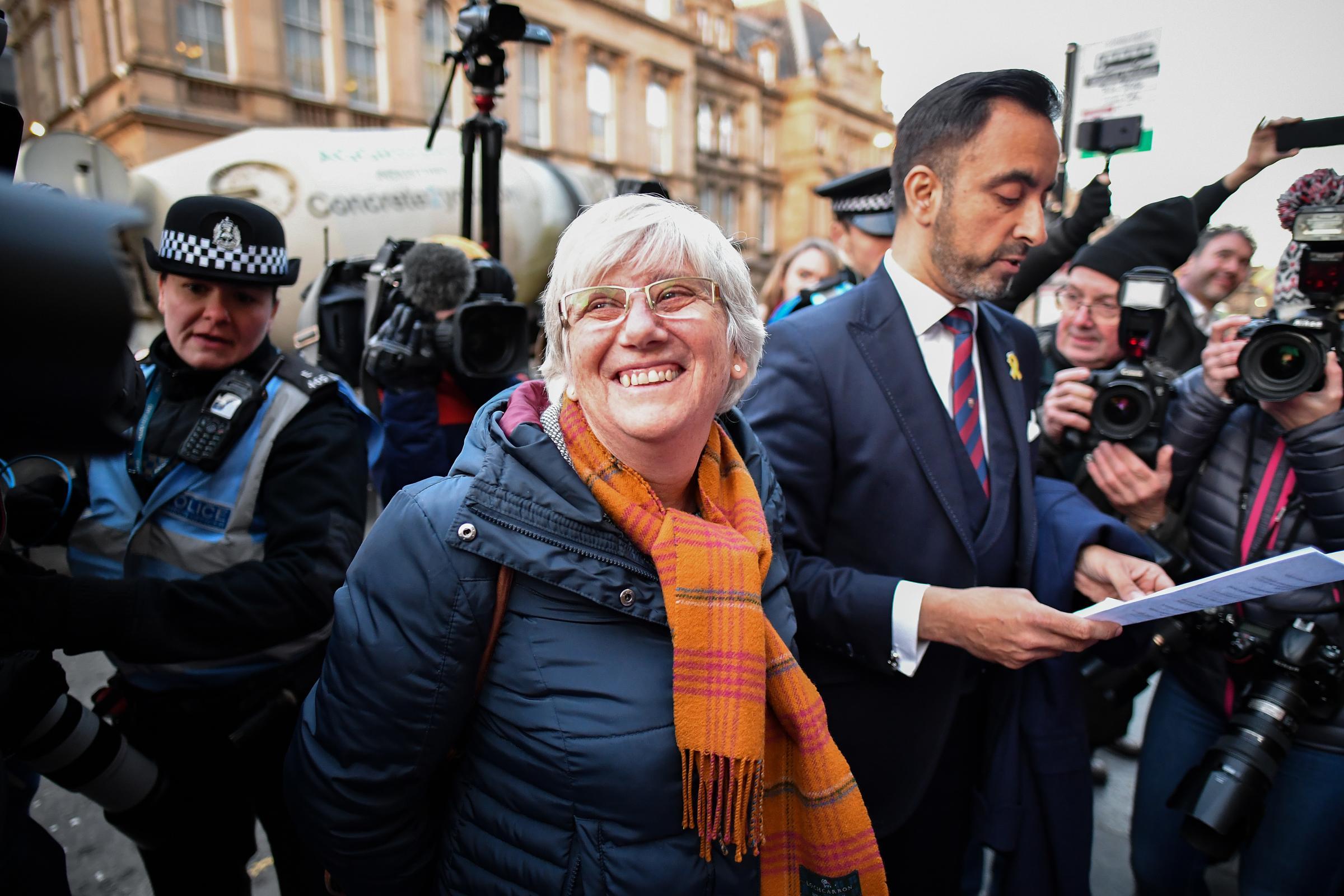 Catalan Ponsati says Spanish oppression will bring independence