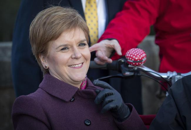 Nicola Sturgeon's party will contest every single Scottish seat