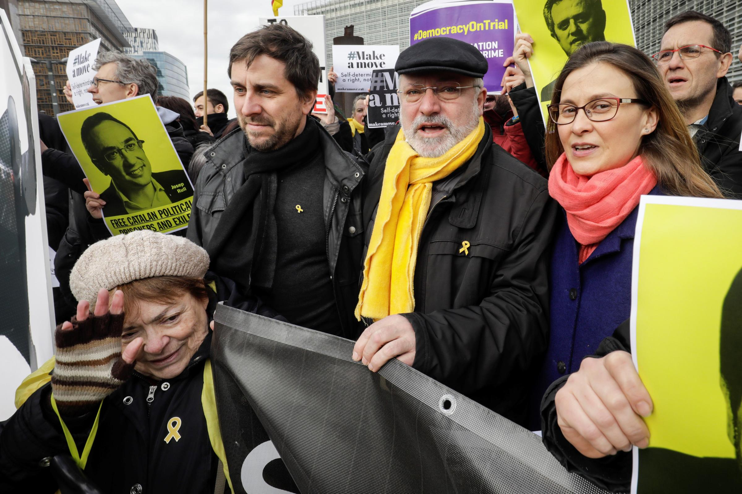 Belgian court will hear three Catalan extradition cases