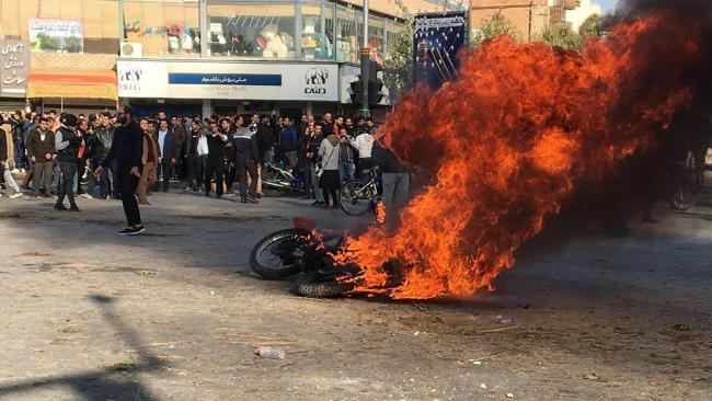 Iran exploded into violence following the announcement of a 50% increase in fuel prices across the country
