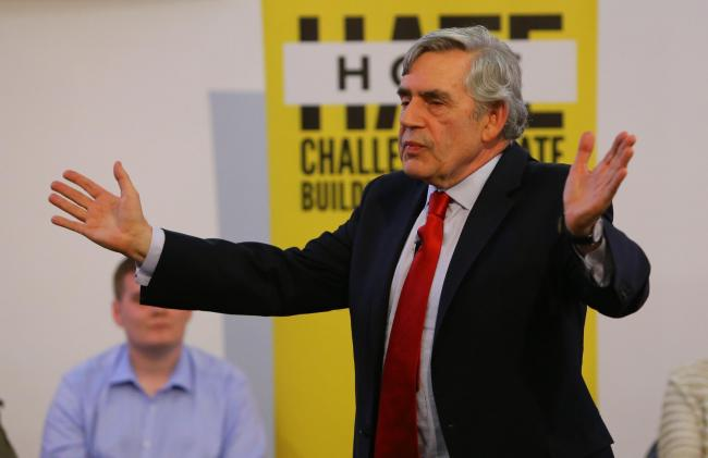 Gordon Brown is steeped in Labour ideology making nationalism a foreign concept to grasp