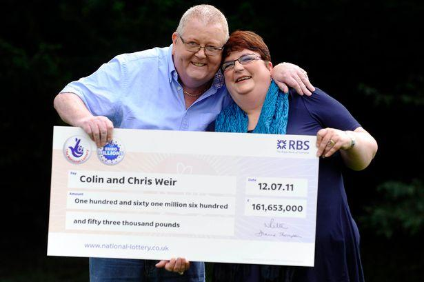 Colin Weir and his then-wife Chris claimed the £161m prize in 2011