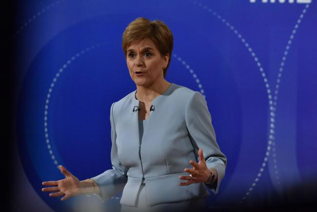 The English media were not interested in how the First Minister performed on Friday night
