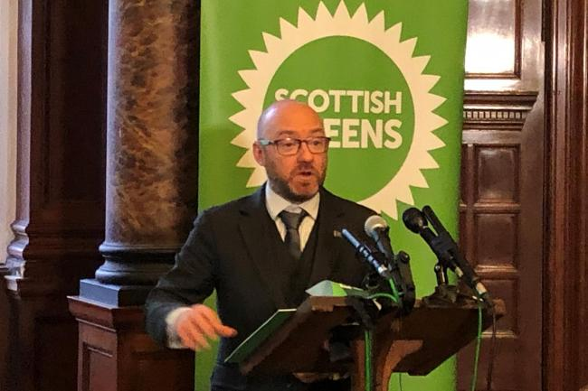 Patrick Harvie called for indyref2 to take place before December 31