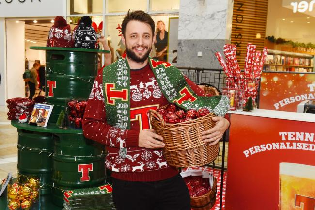 The Tennent's shop in Silverburn will sell a range of novelty gifts including Christmas jumpers, hats and scarves