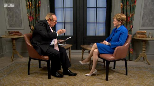 Nicola Sturgeon held her own and confidently outlined the case for independence in her leaders' interview with Andrew Neil
