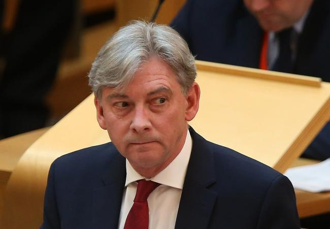The poll does not make good reading for Richard Leonard. Photograph: Gordon Terris