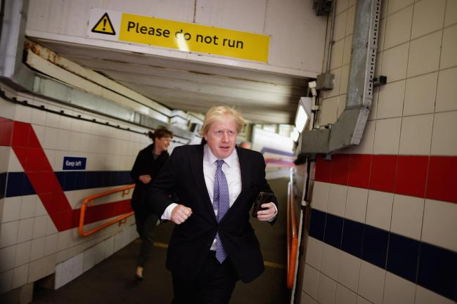 Perhaps Boris Johnson has finally paid attention to the signs that his past remarks are catching up to him