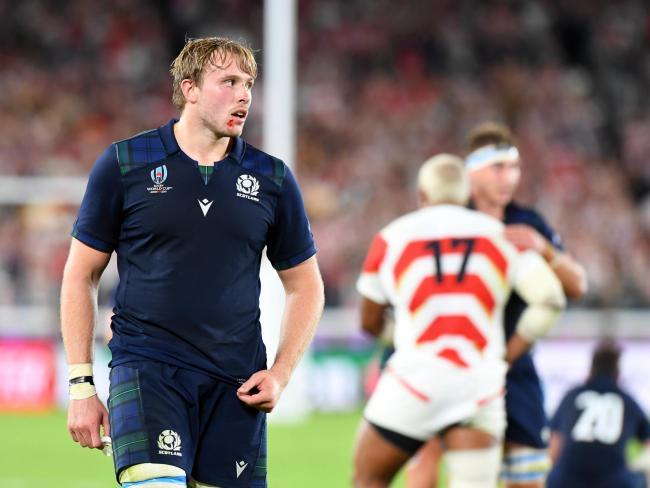 Jonny Gray was surprised to be given an extended break after the World Cup