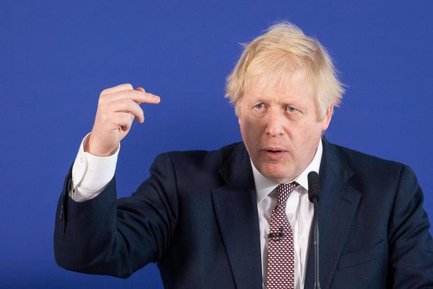 The National: Boris Johnson was accused of insensitivity for his comments on the investigations