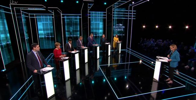 Nicola Sturgeon had a strong performance in the ITV debate in which the Labour and Tory leaders didn't even show up