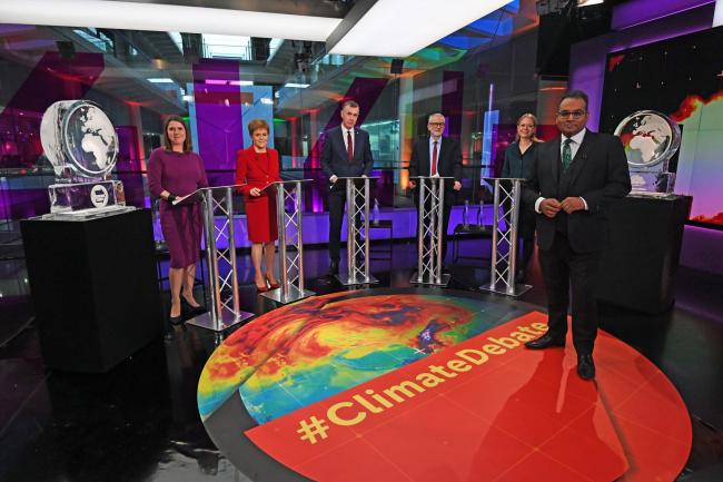 Channel 4 hosted a climate change debate for which the Prime Minister and Nigel Farage failed to show up for