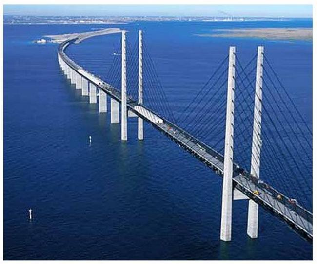 One of the proposed designs takes inspiration from Oresund Bridge which connects Sweden and Denmark
