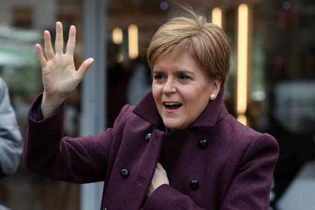 First Minister Nicola Sturgeon confirmed that the US-based Diodes will receive the funding to develop the Greenock factory
