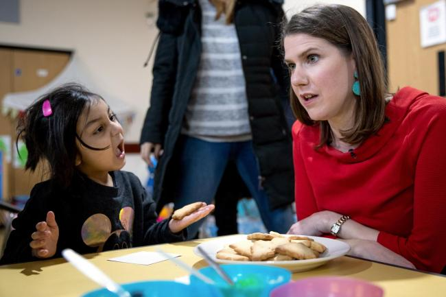 Is this proof that Jo Swinson is panicking in East Dunbartonshire?