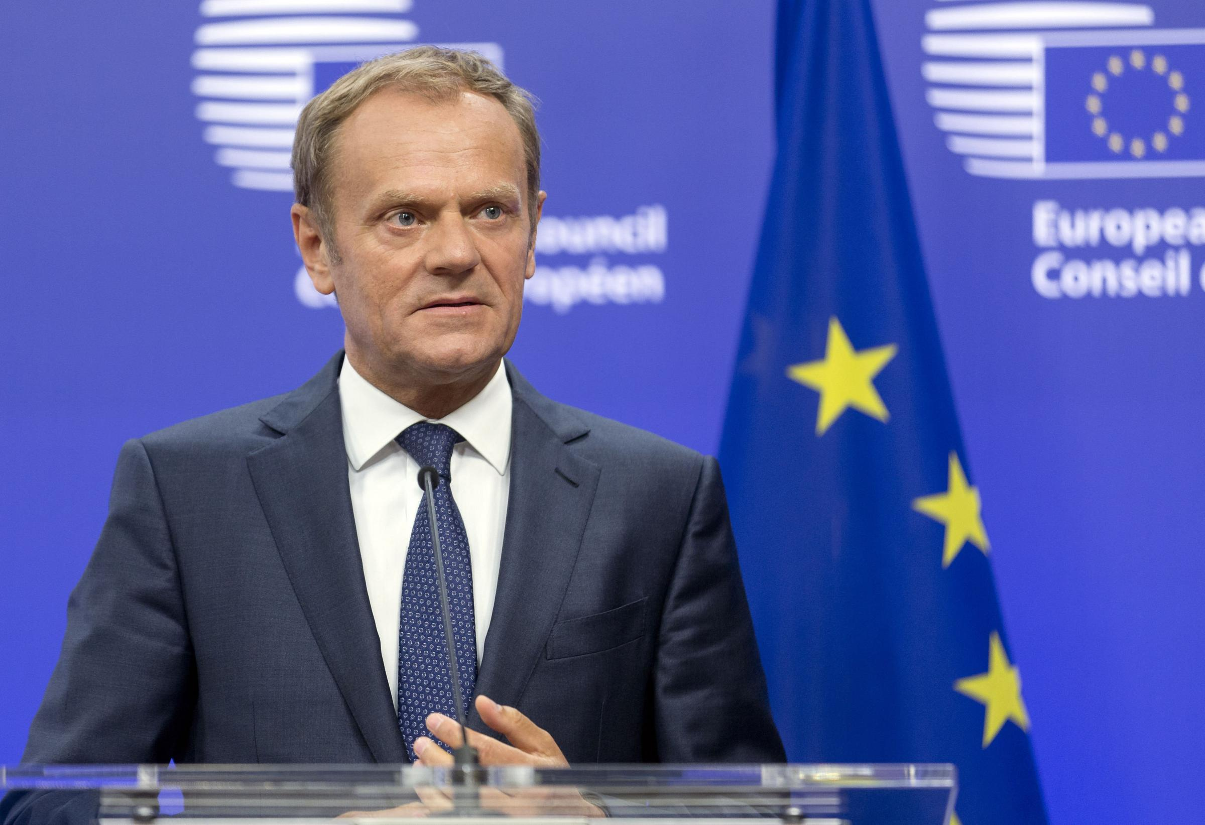 Donald Tusk: I told Mariano Rajoy not to use force in Catalan poll