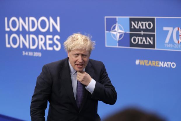 Boris Johnson faced criticism from the parent