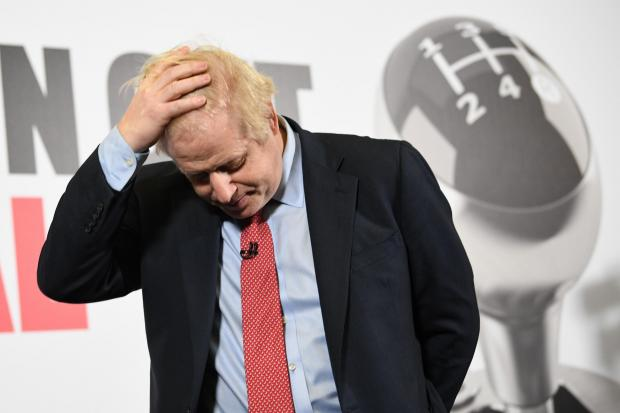 The National: Boris Johnson is regarded as a liability