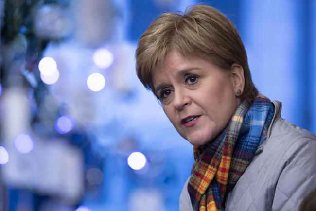Nicola Sturgeon, writing exclusively for the Sunday National, has urged Scots to help oust Boris Johnson