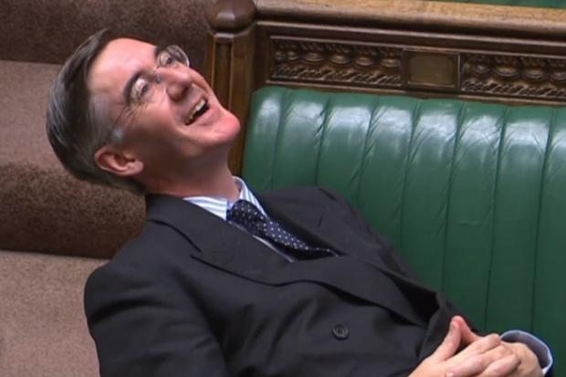 Our futures are threatened by the likes of lounger Jacob Rees-Mogg