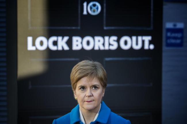 Nicola Sturgeon said Scotland is making better progress
