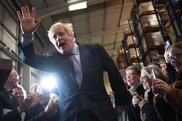 The National: Boris Johnson