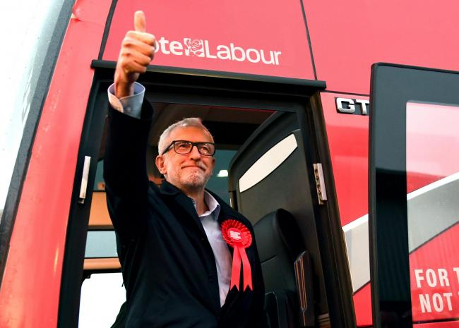 Jeremy Corbyn was not the only one to refer to a 'once-in-a-generation' election last month
