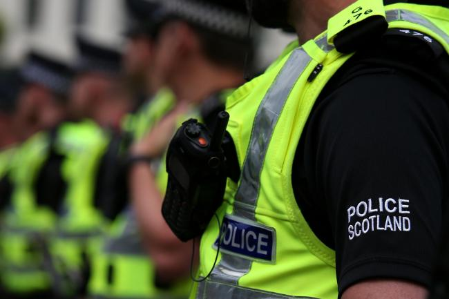 Police from the Community Investigation Unit at Dunfermline raided a property and found Class A drugs