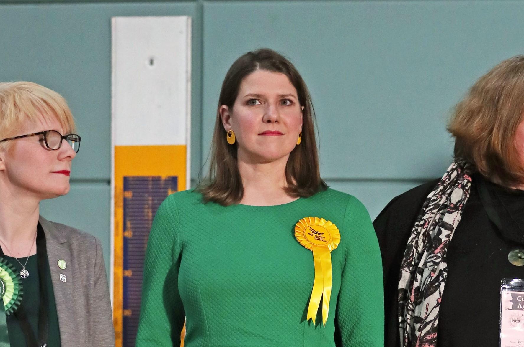 WATCH: LibDem leader Jo Swinson loses Dunbartonshire East seat