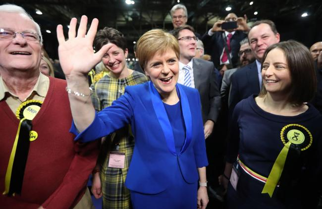 Nicola Sturgeon says the Tory case against Scottish independence has been rejected by Scottish voters
