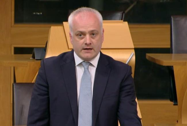 Scottish Green MSP Mark Ruskell put forward the amendment