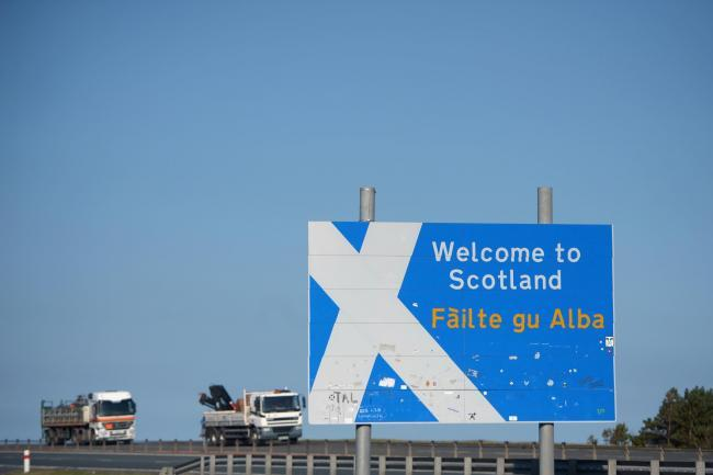 Participants were asked to draw the Border between England and Scotland