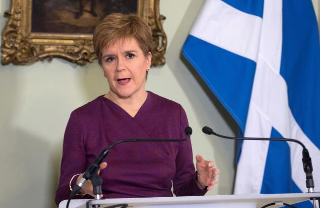 Nicola Sturgeon set out the case for a second referendum on Scottish independence during a statement at Bute House