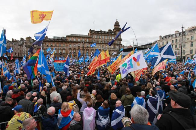 The Scottish Government want to hold a second referendum next year, but if that does not happen the political debate will come down to the clash of competing mandates