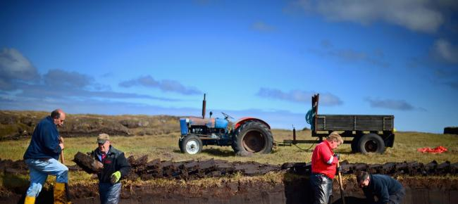 Peat extraction is a major issue for Scotland due to peat's environmental importance and carbon capture ability