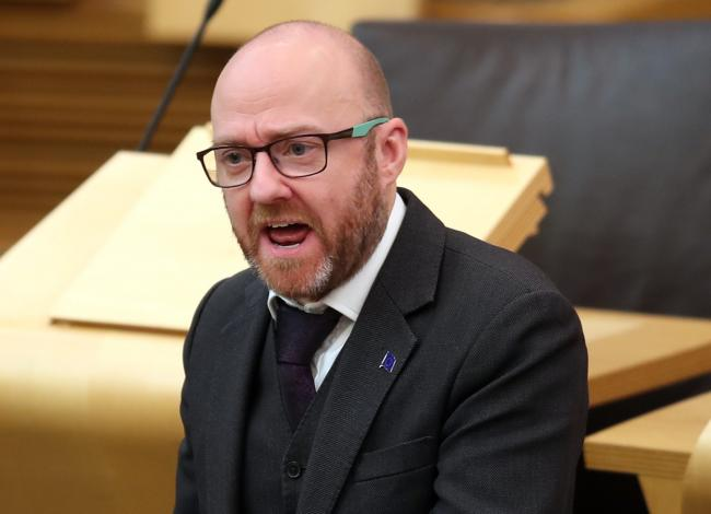 Patrick Harvie laid out the problems