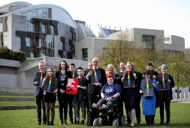 MSPs were proud to back the Tie campaign, but will they listen to detransitioners?