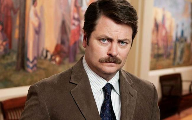 Ron Swanson in Parks and Recreation, taking neutrality into absurdity ... the third sector risks the same