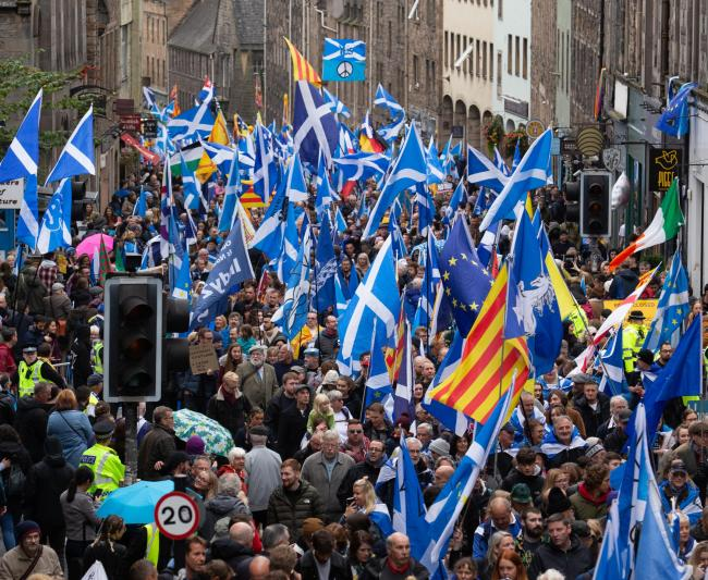 The march in Glasgow on January 11 is expected to be much bigger than the previous Edinburgh rally which attracted around 200,000 Yes campaigners